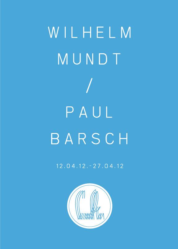 Flyer_Wilhelm Mundt_Paul Barsch